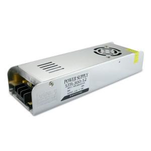 Блок питания для светодиодной ленты DC12 360W 30А STR-360 узкий с ЕМС фильтром