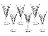 Набор фужеров для шампанского Bohemia Chelsey 210 мл. 6 шт., 024-130