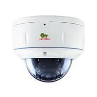 Купольная варифокальная камера с ИК подсветкой IPD-VF4MP-IR POE 1.1