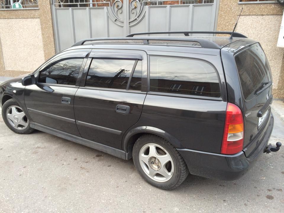 Дефлекторы окон ветровики на OPEL Опель Astra G Wagon 1998-2005