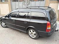 Дефлекторы окон ветровики на OPEL Опель Astra G Wagon 1998-2005, фото 1