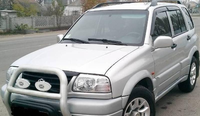 Дефлекторы окон ветровики на SUZUKI Сузуки Grand Vitara I 5d 1998-2005 Escudo 5d 1998-2005 Chevrolet Tracker 5d 1998-2005