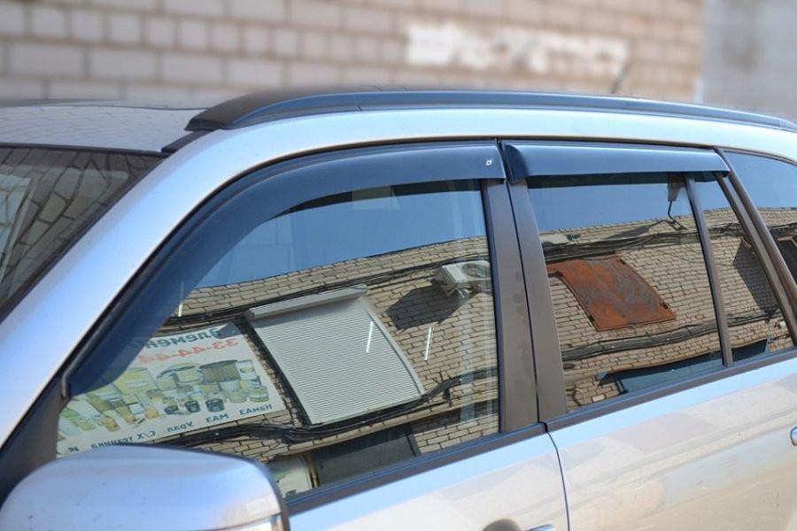 Дефлекторы окон ветровики на SUZUKI Сузуки Grand Vitara II 5d 2005 Escudo 5d 2005-2012