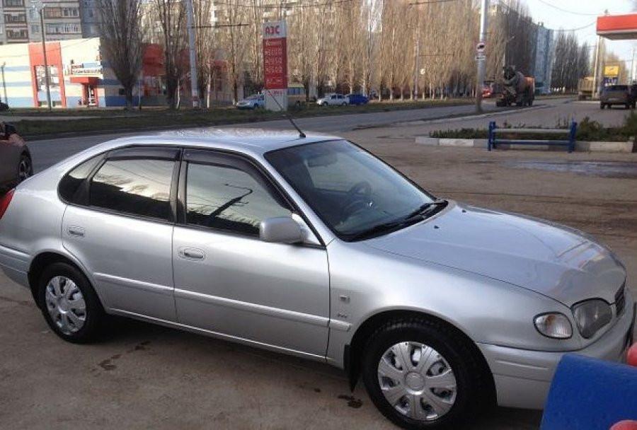 Дефлекторы окон ветровики на TOYOTA Тойота Corolla Hb 5d 1997-2001