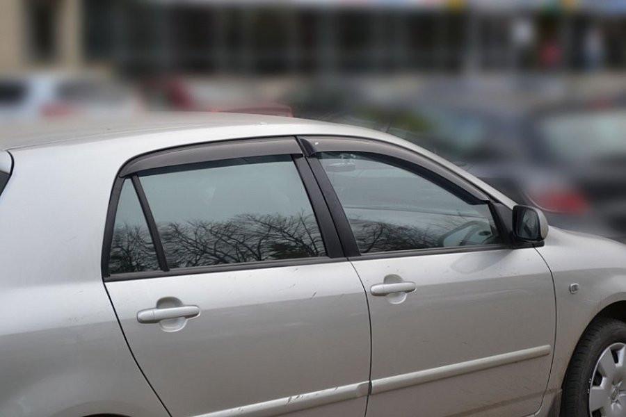 Дефлекторы окон ветровики на TOYOTA Тойота Corolla Hb 5d 2001-2007