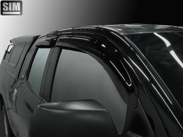Дефлектори вікон вітровики на TOYOTA Toyota Tundra Double Cab -7 4ч.