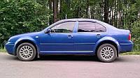 Дефлекторы окон ветровики на VOLKSWAGEN Фольксваген VW Bora 1999-2005