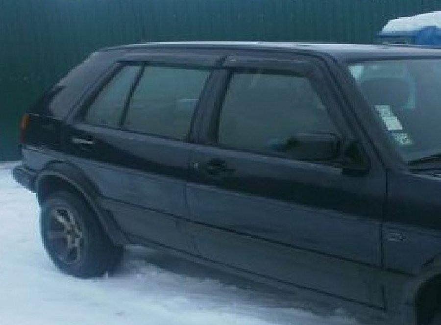 Дефлекторы окон ветровики на VOLKSWAGEN Фольксваген VW Golf III 5d 1991-1998