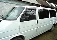 Дефлекторы окон ветровики на VOLKSWAGEN Фольксваген VW T4 1990 -2002
