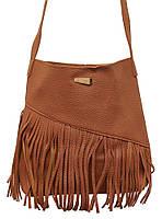 Модна жіноча сумка через плече X005 (коричнева)