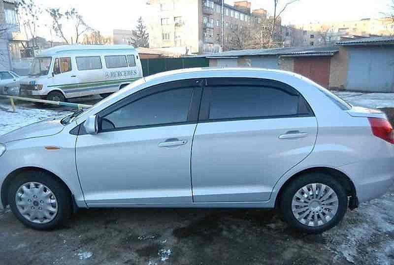 Дефлекторы окон ветровики на ЗАЗ ZAZ Forza Chery Bonus A13 Sd 2011