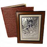 Икона Ангел хранитель в деревянной рамке, фото 2