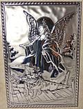 Икона Ангел хранитель в деревянной рамке, фото 3