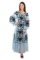 Вишите оригінальне плаття з євросітки