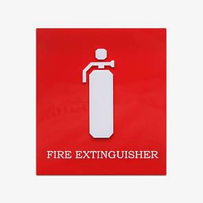 Знак наклейка вогнегасник, фото 2