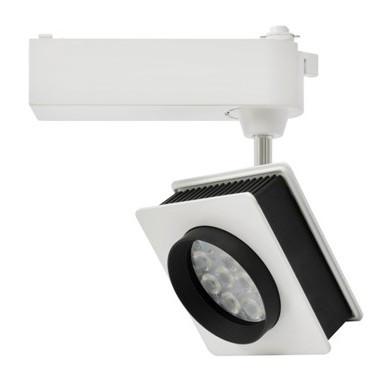 Светодиодный трековый светильник D30К  30W 6000K белый Код.58041