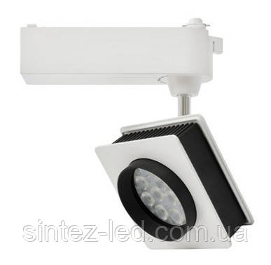 Светодиодный трековый светильник D30К  30W 6000K белый Код.58041, фото 2
