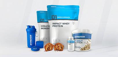MyProtein – бренд спортивного харчування №1 в Європі