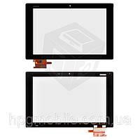 Сенсорный экран (touchscreen) для Sony Xperia Tablet Z2, (тип 2, #54.20015.537), черный, оригинал