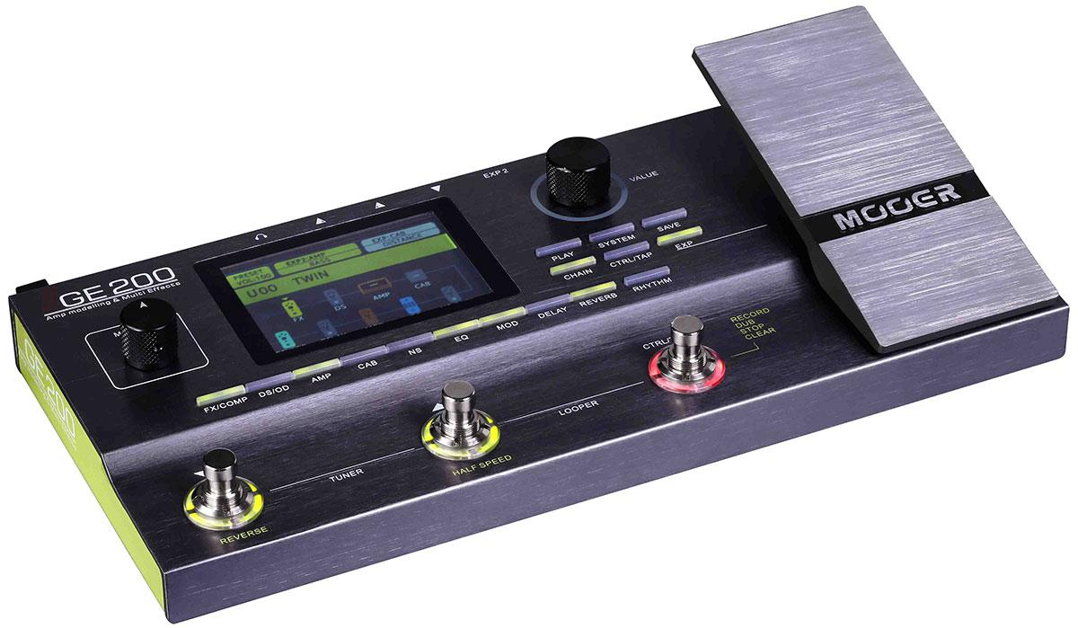 Гітарний процесор ефектів MOOER GE200