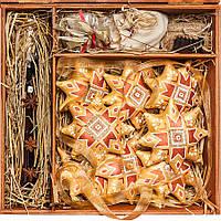 Подарочный новогодний VIP набор №21z. Золотая звезда., фото 1