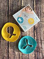 """Волшебные формочки для ванны и пляжа """"STAR FISH"""" (цвет зеленый+желтый), Quut"""