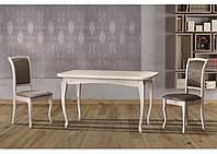 Стол кухонный обеденный Соренто белый