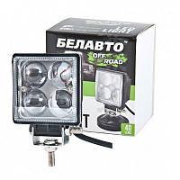 Доп LED Фары BELAUTO BOL 0403QL (точечный) 12W