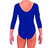 Купальник для художественной гимнастики синий М (30-32) , фото 3