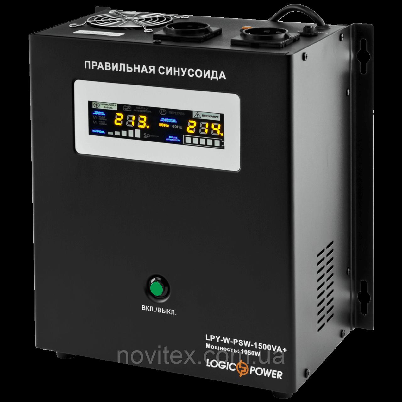 ИБП Logicpower LPY-W-PSW-1500+ (1050Вт) 24V