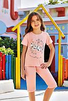 Комплект для сна детский 6564 футболка+капри Berrak