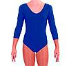 Купальник для художественной гимнастики синий L (34-36), фото 2
