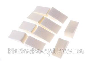 Набор спонжей из треугольников для тональный основ Salon Professional цвет в ассортименте