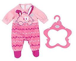Одежда для кукол Беби Борн Baby Born Комбинезон ромпер розовый Strampler Zapf Creation 824566
