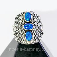 Опал огненный, серебро 925, кольцо, 187КО, фото 1