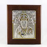 Икона Святой Николай в деревянной рамке в шкатулке, фото 2