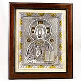 Ікона Ісус Христос в дерев'яній рамці в шкатулці, фото 2