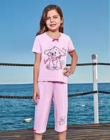 Комплект для сна детский 2528 футболка+капри Berrak