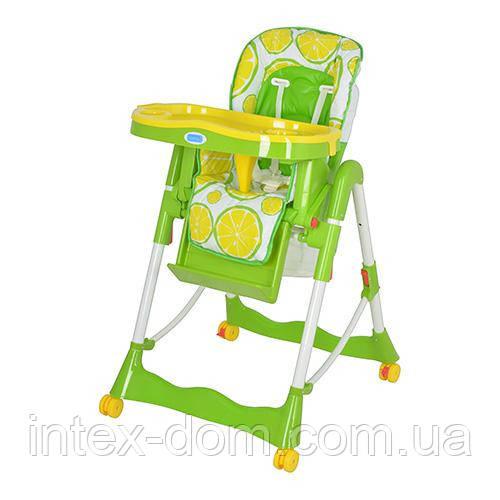 Детский Стульчик для кормления RT 002 Lemon