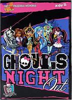 Бумага цветная неон,  А4 Monster High