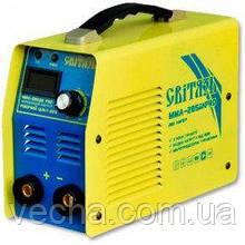 Сварочный инвертор Свитязь СА 285 ДК PRO (пласт. чемодан, дисплей)