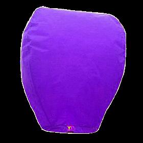 Небесный фонарик купол, высота фонарика: 85 см., цвет: фиолетовый