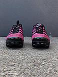Кроссовки Nike Vapormax Red - Hyper Violet. Живое фото (Реплика ААА+), фото 3