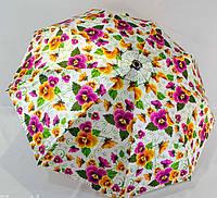 Изумительный зонт от дождя женский полуавтомат антиветер сатин фиберглас высокого качества по низкой цене