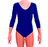 Купальник для художественной гимнастики темно-синий ХL (38-40) , фото 2