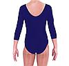Купальник для художественной гимнастики темно-синий ХL (38-40) , фото 3