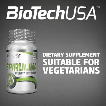 Spirulina BioTech (USA) (100 таб.), фото 2