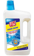 Моющее средство для ухода за керамической плиткой, мрамором  W5 Floor Shine  1000 мл