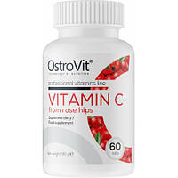 Vitamin C From Rose Hips OstroVit 60 tabs