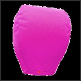 Небесный фонарик купол, высота фонарика: 85 см., цвет: розовый